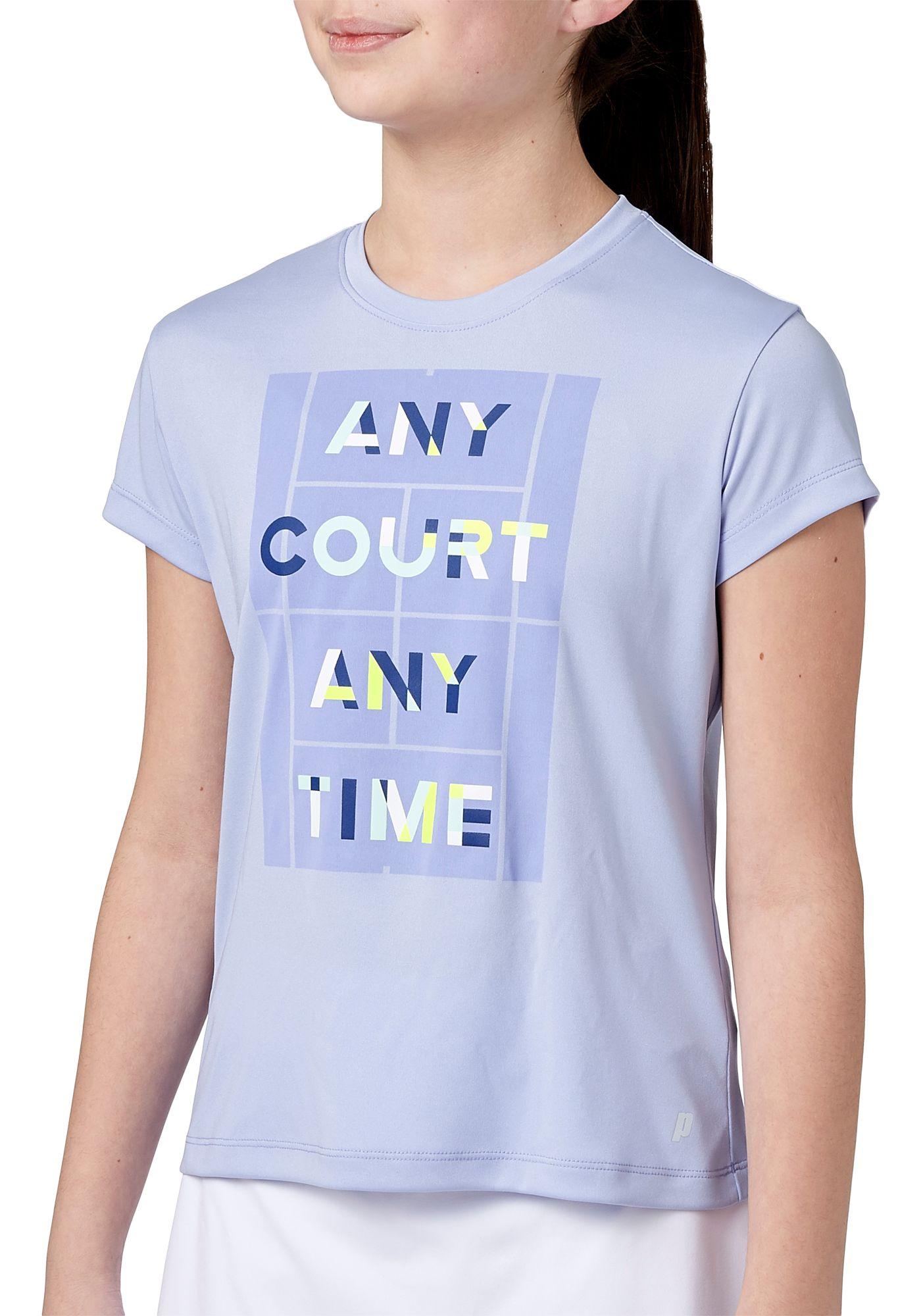Prince Girls' Graphic Tennis Tee