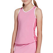 Prince Girls' Piped Match Knit Tennis Tank