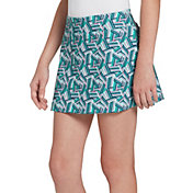 Prince Girls' Printed Match Knit Tennis Skort