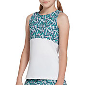 Prince Girls' Printed Match Tank Top