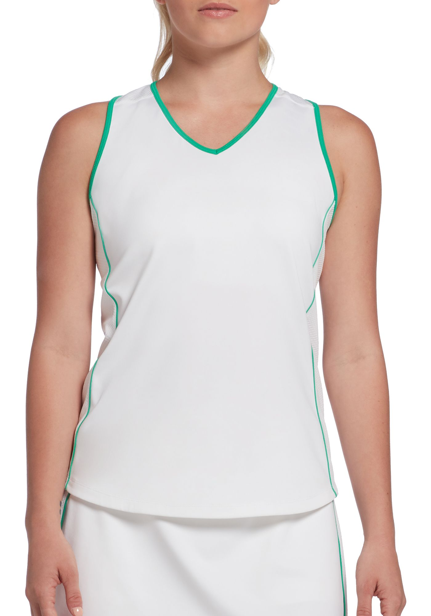 Prince Women's Piped Match Racerback Tennis Tank