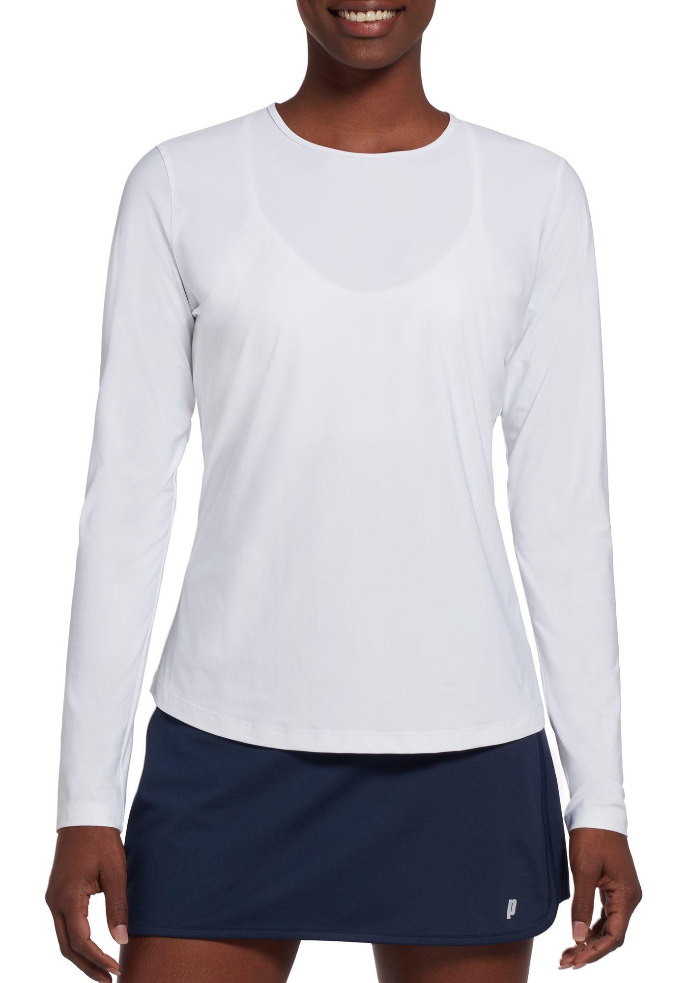Prince Women's UV Crew Neck Tennis Shirt