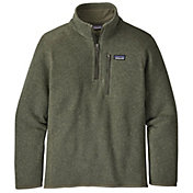 Patagonia Boys' Better Sweater ¼ Zip Fleece