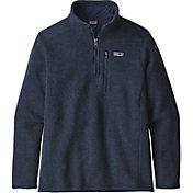 Patagonia Boys' Better Sweater ¼ Zip Fleece