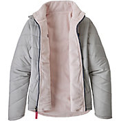 Patagonia Girls' Reversible Snow Flower Winter Jacket