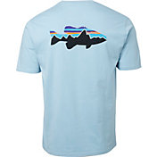 Patagonia Men's Fitz Roy Smallmouth Organic Cotton T-Shirt