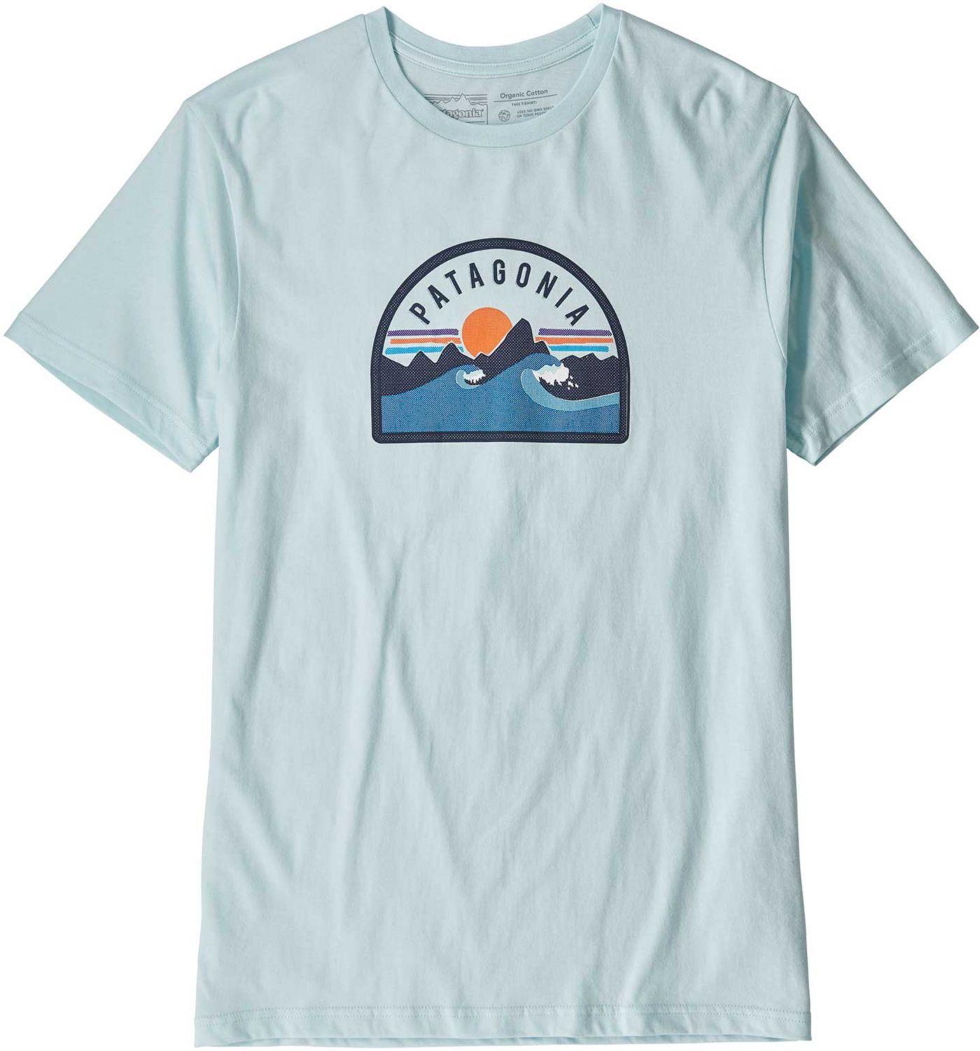 Patagonia Men's Boardie Badge Organic T-Shirt