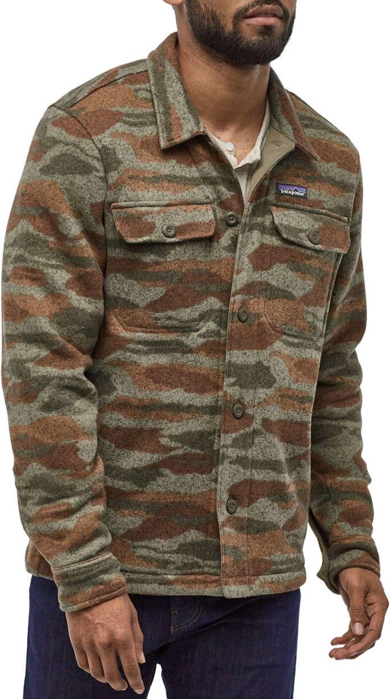 Patagonia Men's Better Sweater Shirt Fleece Jacket