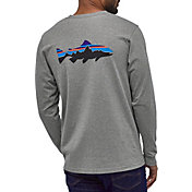 Patagonia Men's Fitz Roy Trout Responsibli-Tee Long Sleeve T-Shirt
