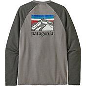 Patagonia Men's Line Logo Ridge Lightweight Crew Sweatshirt