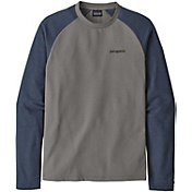 Patagonia Men's Line Logo Ridge Lightweight Crew Sweatshirt