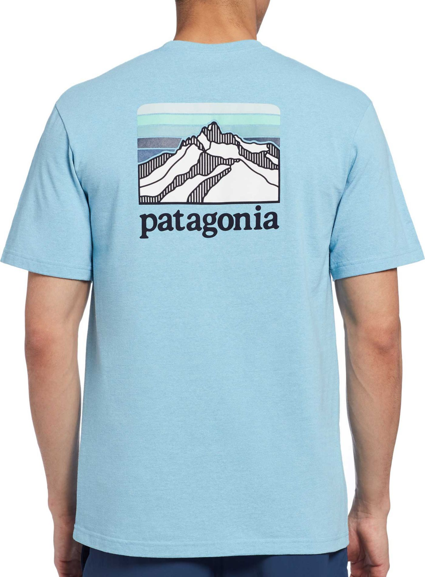 Patagonia Men's Line Logo Ridge Pocket Responsibili-Tee T-Shirt
