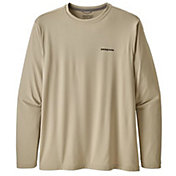 Patagonia Men's Fish Graphic Capilene Cool Long Sleeve Shirt