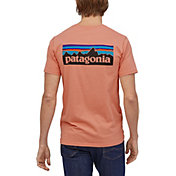 Patagonia Men's P-6 Logo Organic Short Sleeve T-Shirt