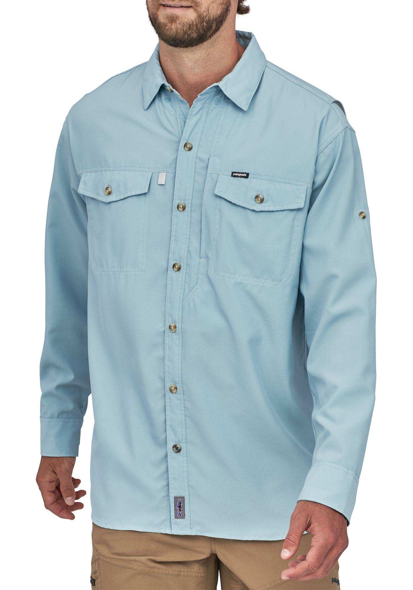Patagonia Men's Sol Patrol Long Sleeve Button Down Shirt