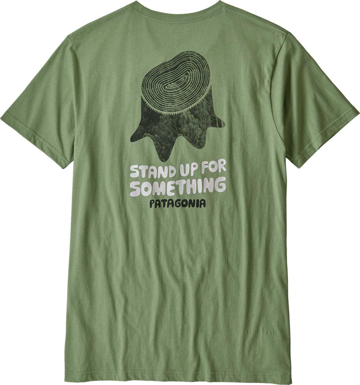 Patagonia Men's Stand Up Organic Short Sleeve T-Shirt