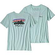 Patagonia Women's Free Hand Fitz Roy Organic Crew T-Shirt