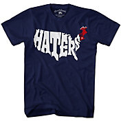 Chowdaheadz Men's New England Haters Navy T-Shirt