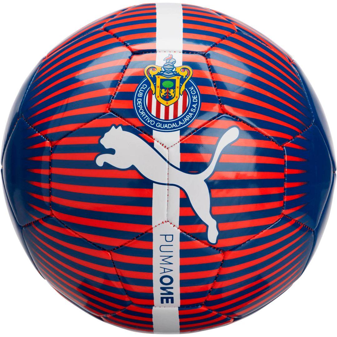 newest 66a8c 5a07e PUMA Chivas One Chrome Soccer Ball