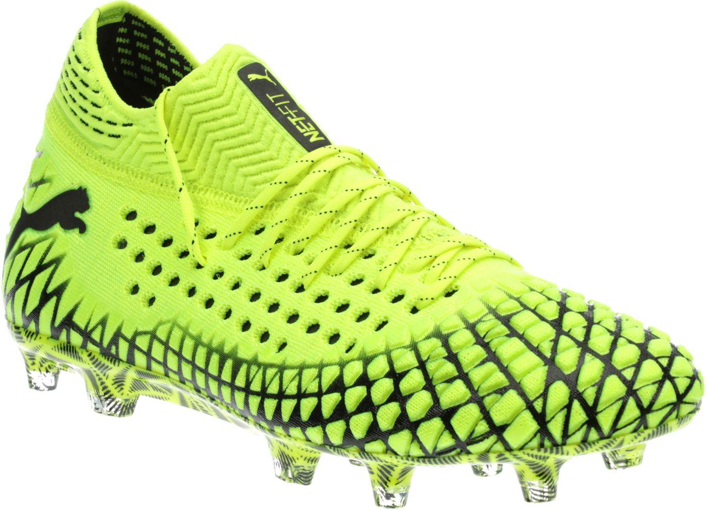 PUMA Men's Future 4.1 Netfit FG/AG Soccer Cleats