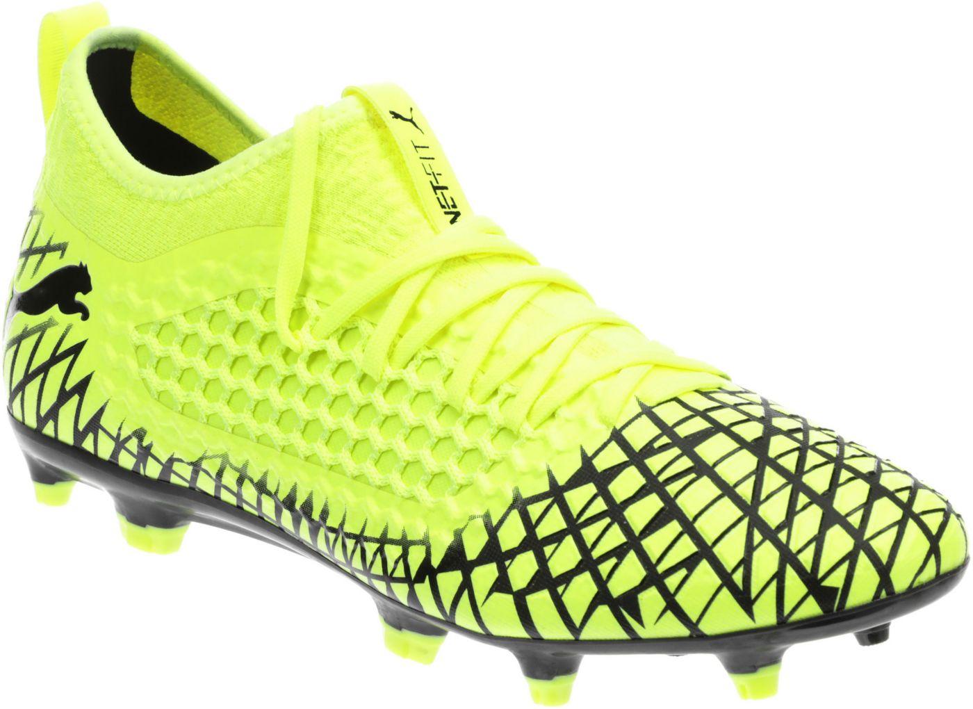 PUMA Men's Future 4.3 Netfit FG/AG Soccer Cleats