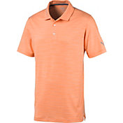 PUMA Men's Caddie Stripe Golf Polo