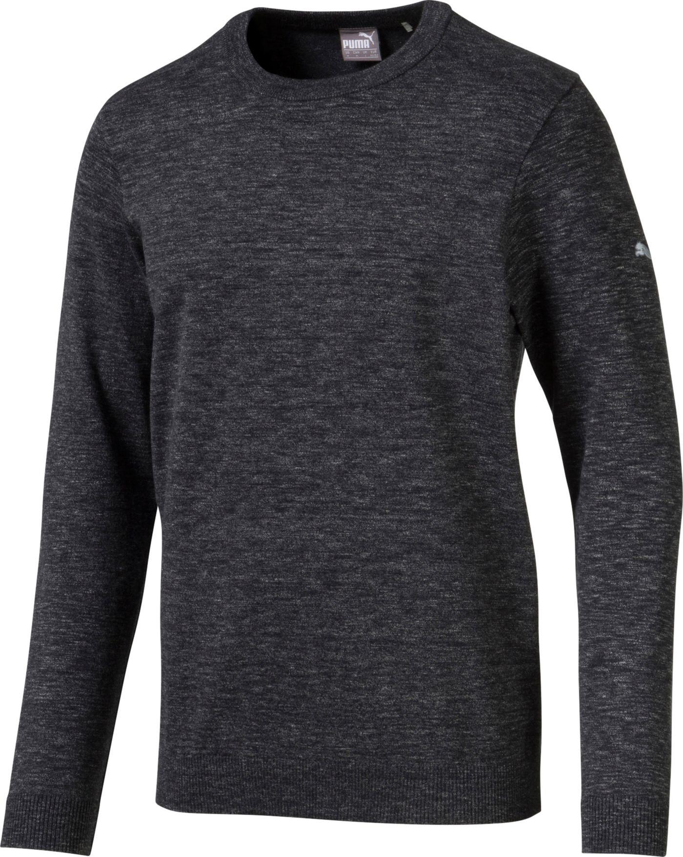 PUMA Men's Crew Neck Golf Sweater