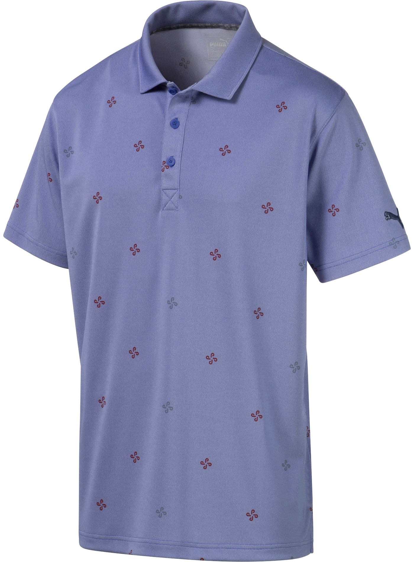 PUMA Men's Ditsy Golf Polo