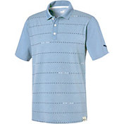 PUMA Men's Fusion Dot Golf Polo