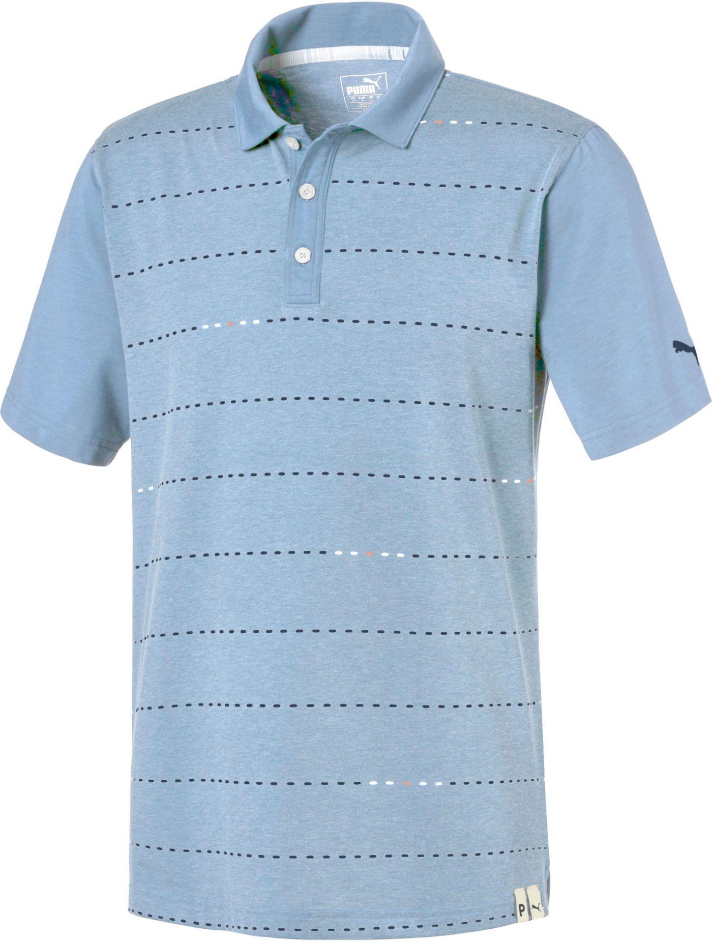 PUMA Men's Fusion Dot Golf Polo