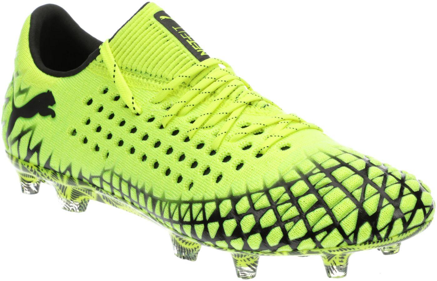 PUMA Men's Future 4.1 Netfit Low FG/AG Soccer Cleats