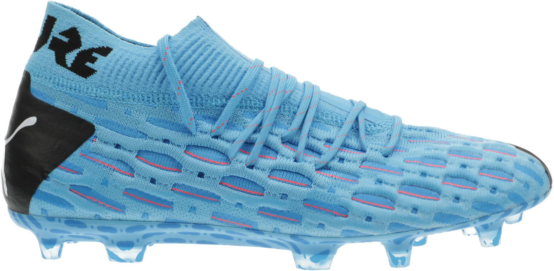 PUMA Men's Future 5.1 NetFit FG Soccer Cleats, Size: Small, Blue