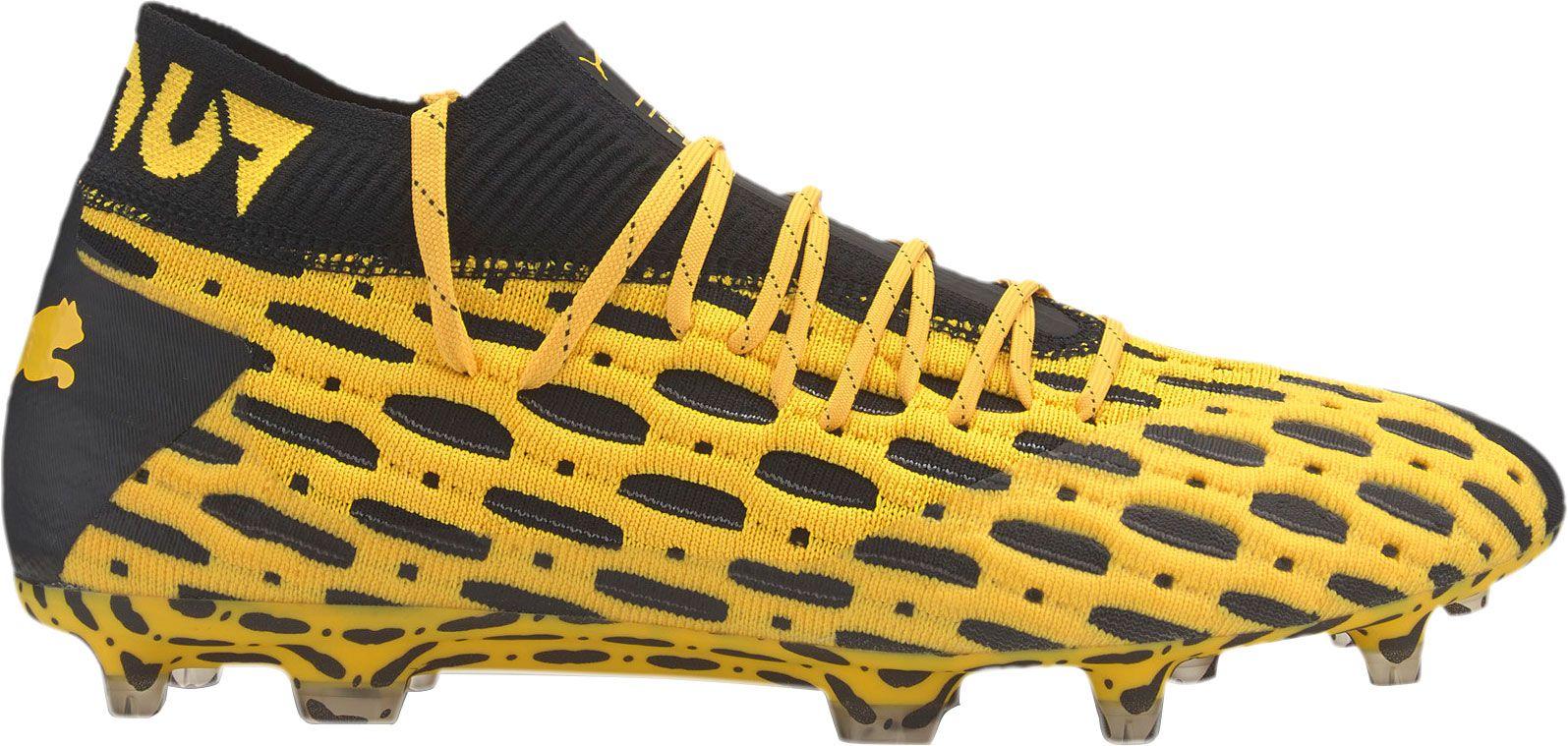 PUMA Men's Future 5.1 NetFit FG Soccer Cleats, Size: Small, Green