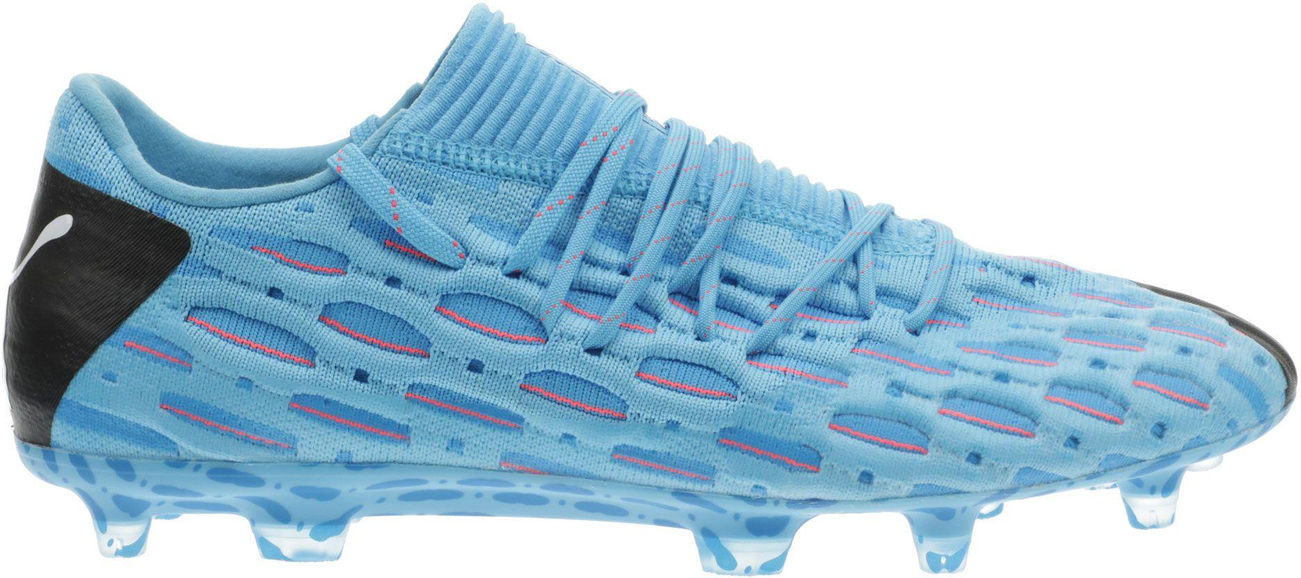 PUMA Men's Future 5.1 NetFit Low FG Soccer Cleats, Size: Small, Blue