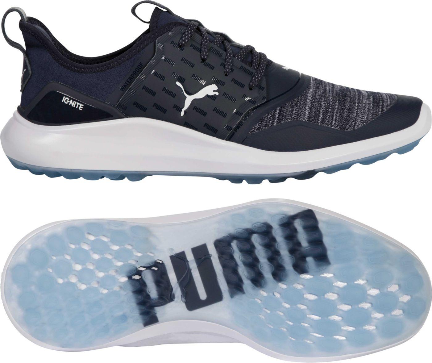 PUMA Men's IGNITE NXT Big Logo Golf Shoes