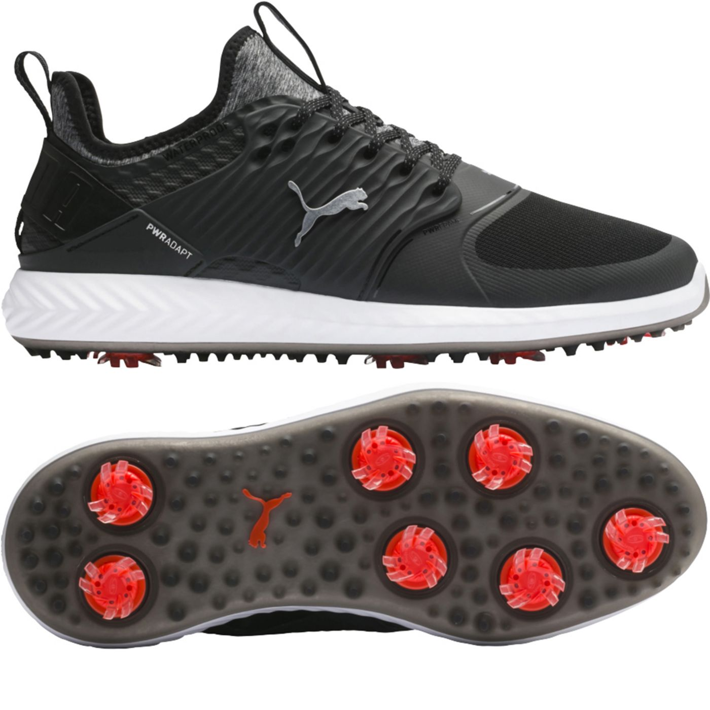 PUMA Men's IGNITE PWRADAPT Caged Golf Shoes