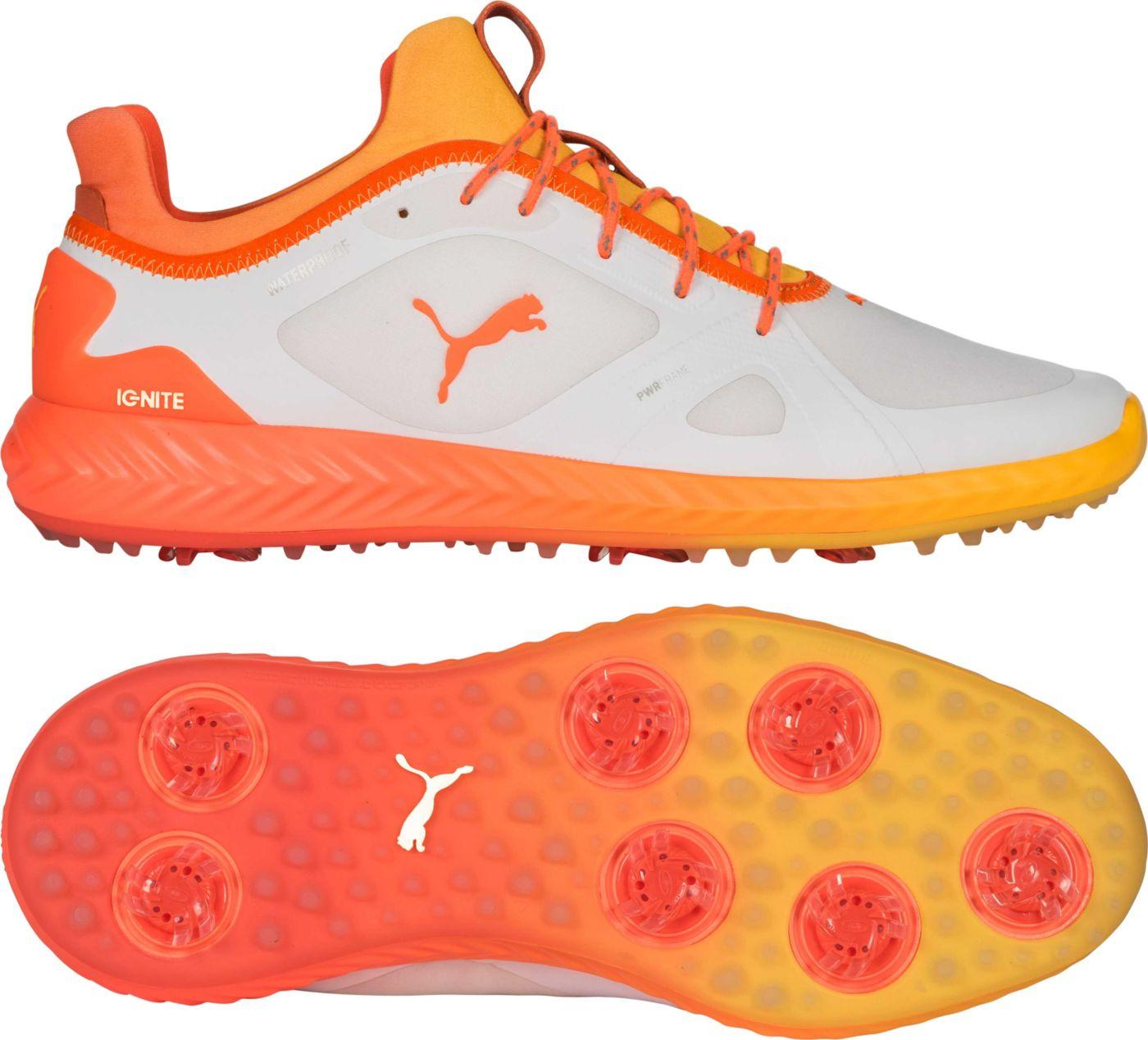 PUMA Men's Limited Edition IGNITE PWRADAPT SOLSTICE Golf Shoes