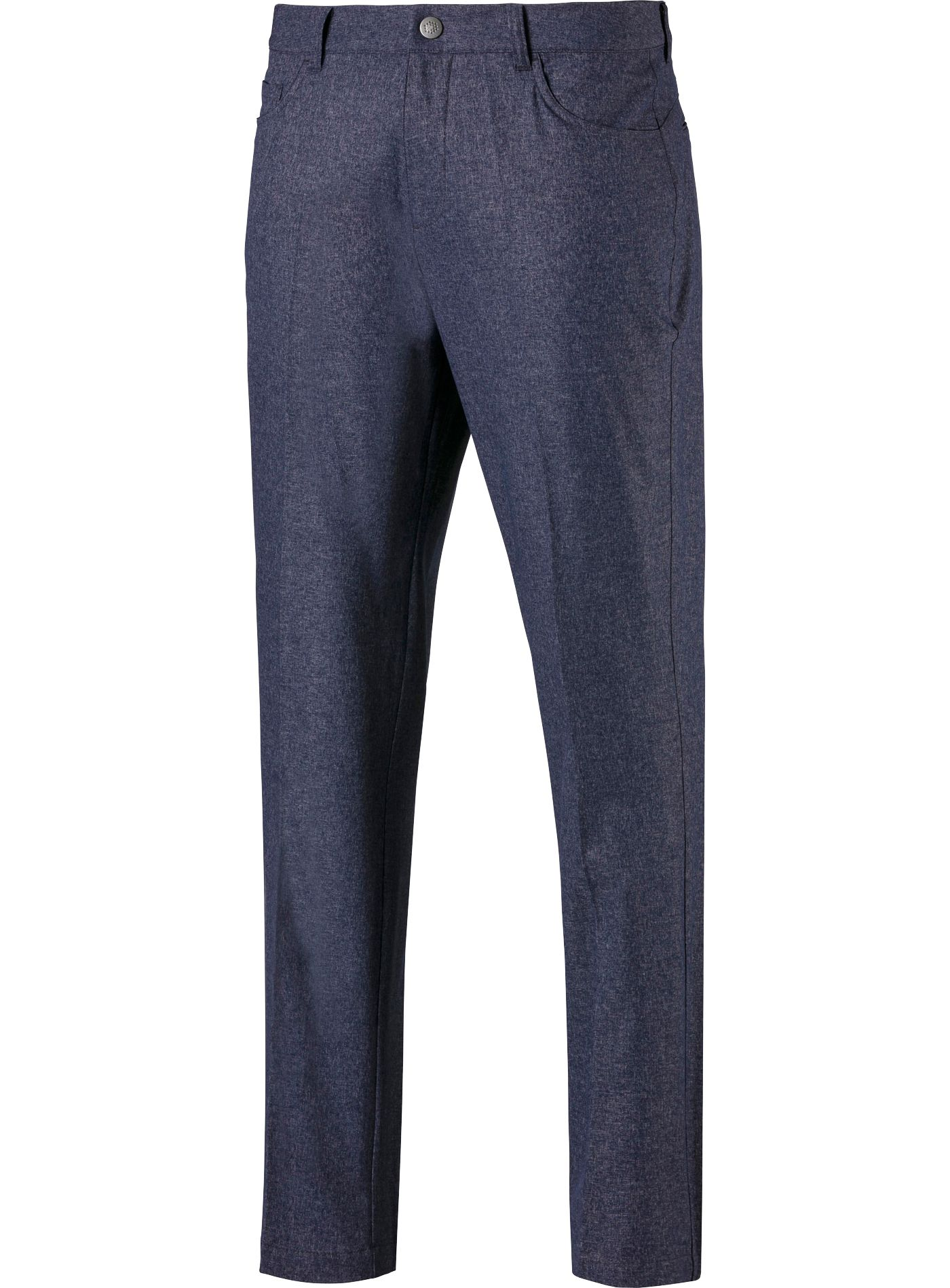 PUMA Men's Jackpot 5 Pocket Heather Golf Pants