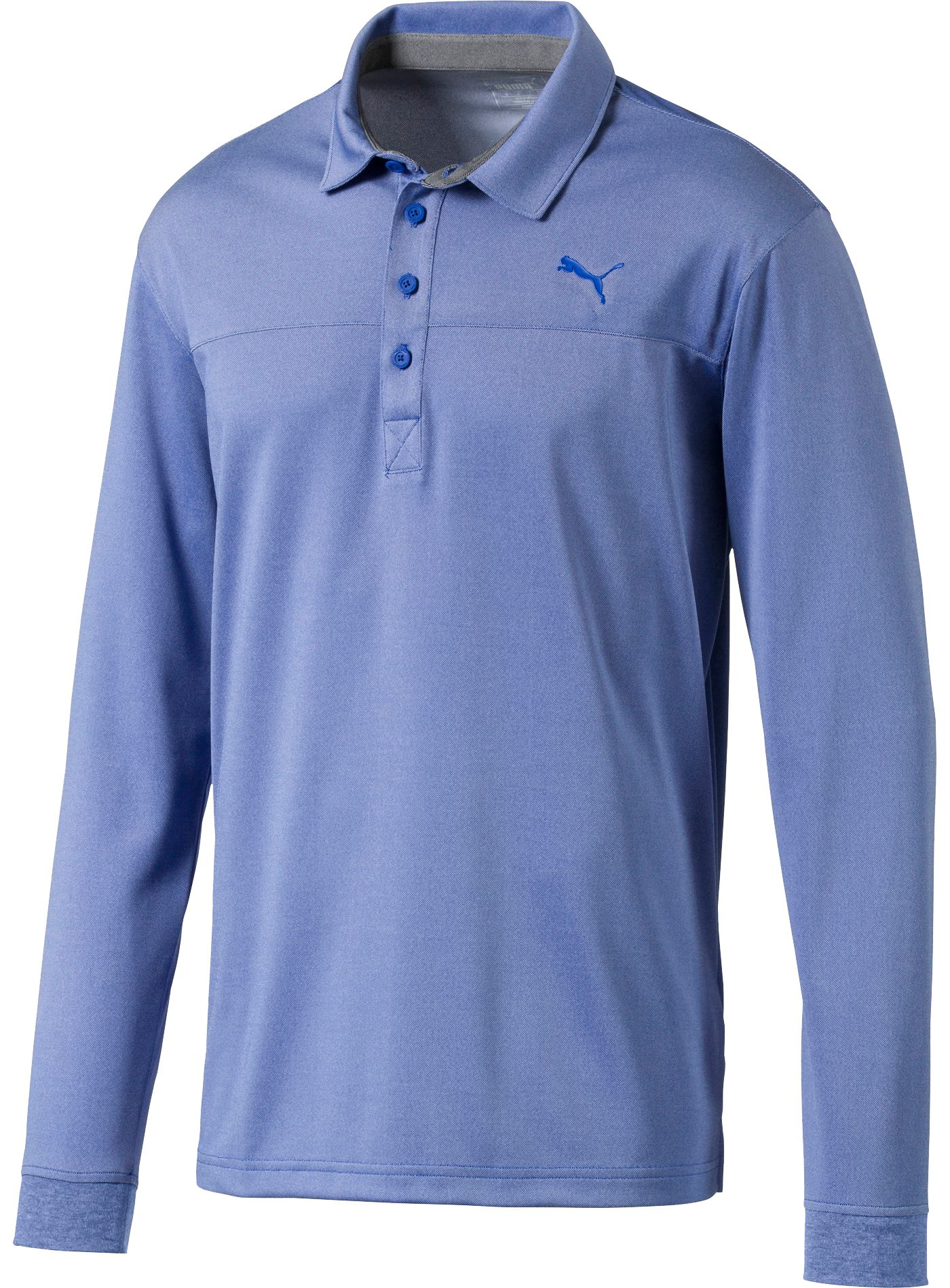PUMA Men's Long Sleeve Golf Polo