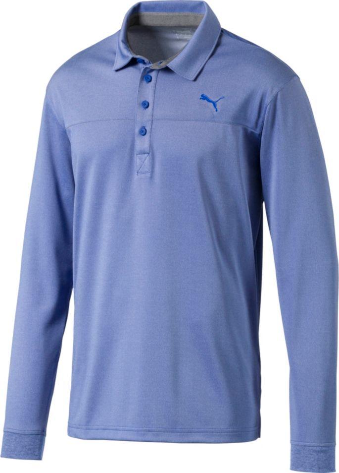 5465ef82 PUMA Men's Long Sleeve Golf Polo