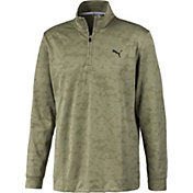 PUMA Men's Alterknit Camo ¼ Zip Golf Pullover