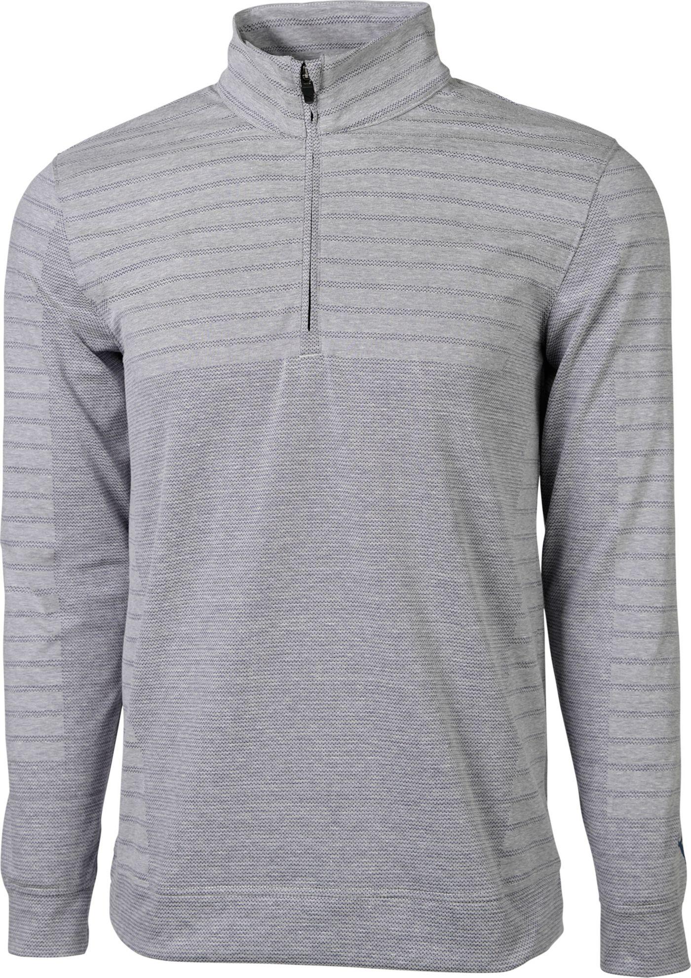 PUMA Men's Mapped ¼ Zip Golf Pullover