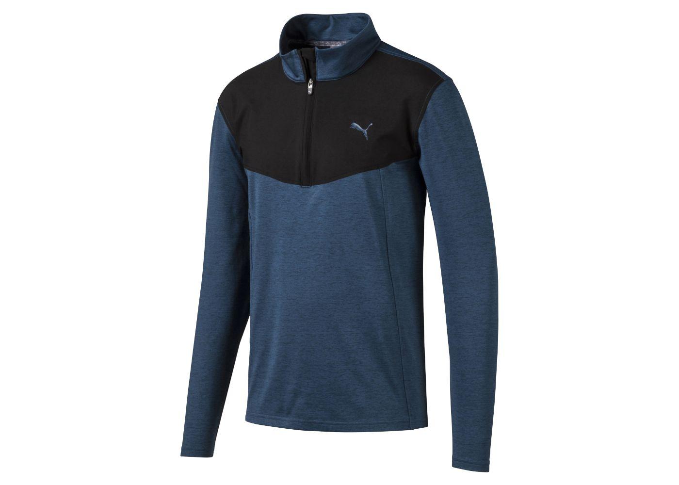 PUMA Men's Preston ¼ Zip Golf Pullover