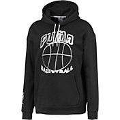 PUMA Men's Hoops Pass The Rock Graphic Basketball Hoodie