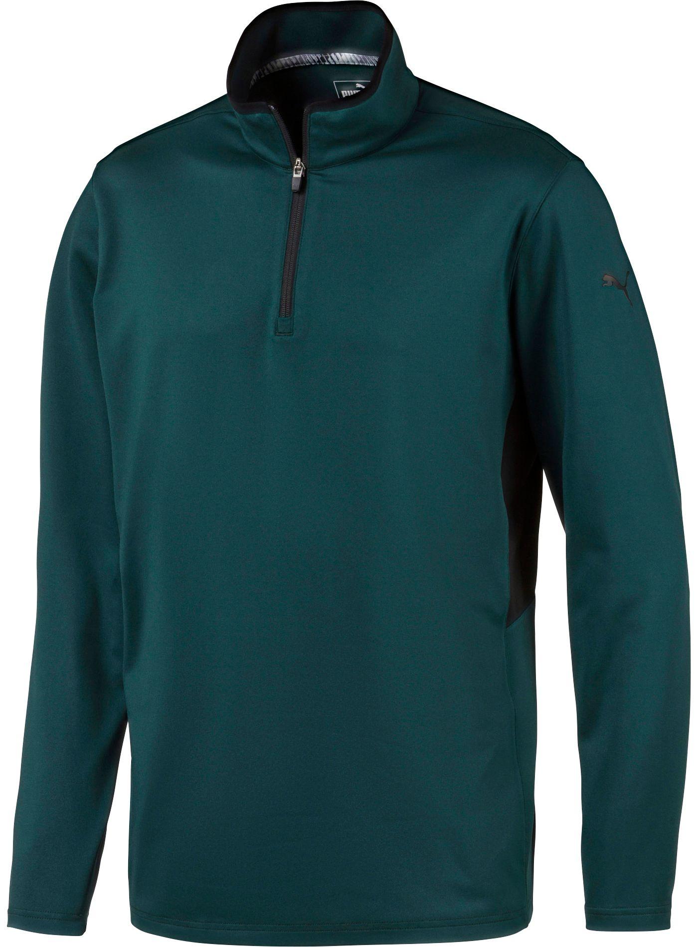 PUMA Men's Rotation ¼ Zip Golf Pullover