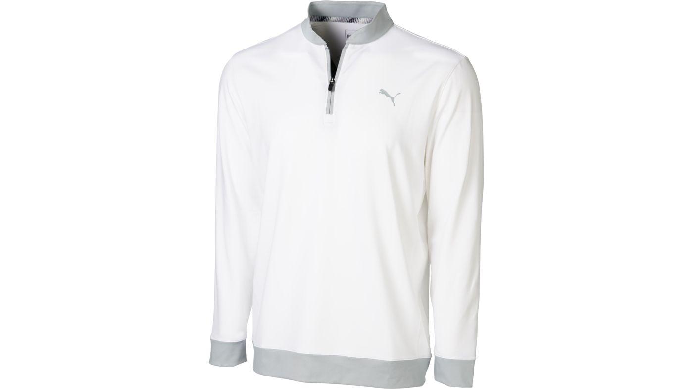 PUMA Men's Stealth ¼ Zip Golf Pullover