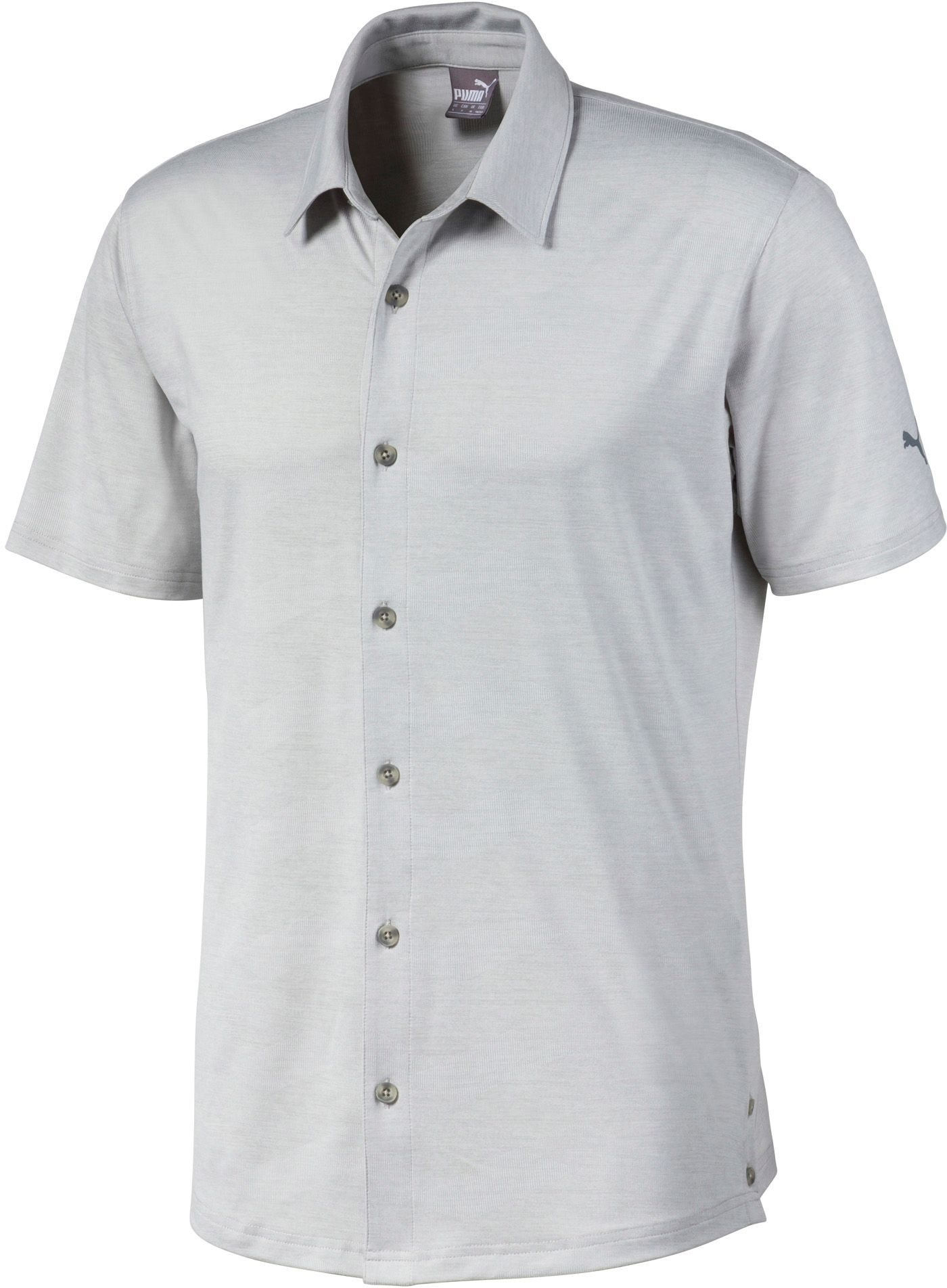 PUMA Men's Easy Living Button Down Golf Shirt