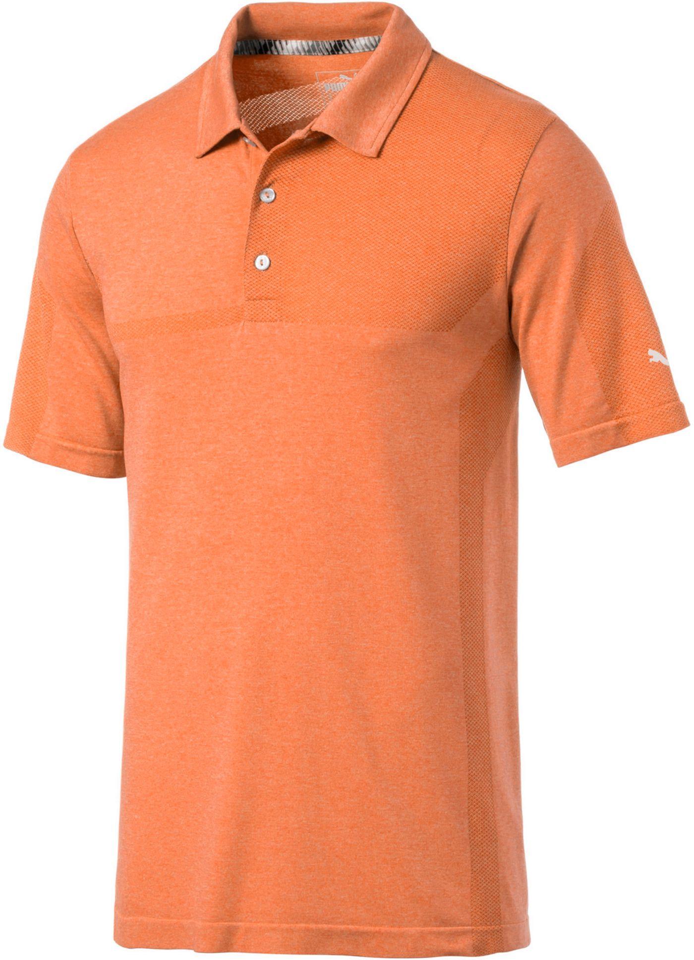 PUMA Men's Evoknit Breakers Golf Polo