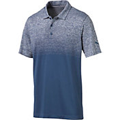 PUMA Men's Evoknit Ombre Golf Polo