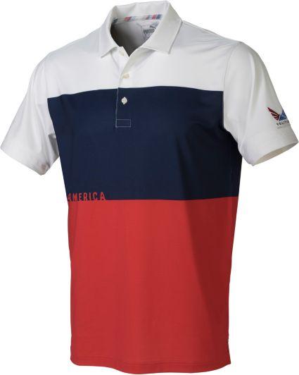 PUMA Men's Volition CK6 America Golf Polo